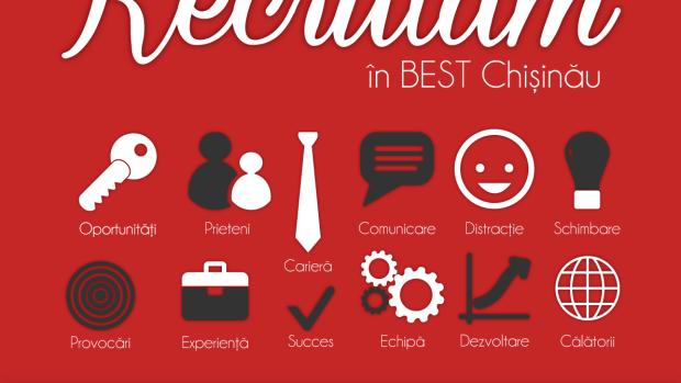 Dacă ești student și cauți noi experiențe în timpul studiilor, aplică acum la BEST Chișinău