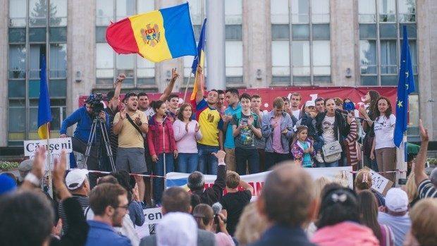 Primii pași pentru Țara Demnității! Ștefan Vodă se alătură protestului Platformei DA
