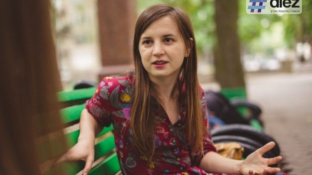 """Maria-Paula Erizanu: """"Moldovenii se tem de curent, dar trebuie să creăm un pic de curent cultural"""""""