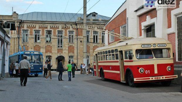 (foto) Depoul de tramvaie din Chișinău a găzduit deschiderea Zilelor Europene ale Patrimoniului