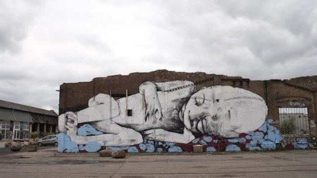 (foto) Mesaje sociale importante, transmise societății prin arta stradală