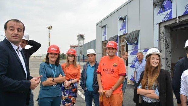 (foto) Ce cred bloggerii din Moldova despre Aeroportul Internațional Chișinău