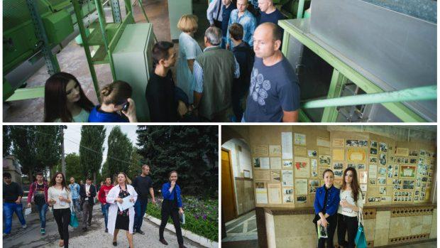 (foto) O vizită la Combinatul de Tutun din Chișinău