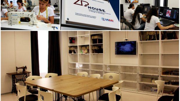 (foto) Zip House – spațiul unde tinerii designeri din Moldova își pot produce propriile colecții