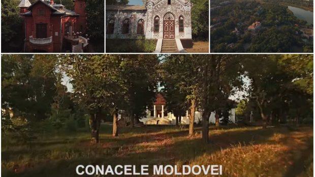 (video) Frumoasele Conace ale Moldovei, văzute de la înălțimea unui zbor de pasăre