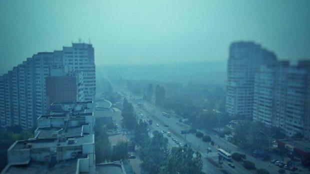 Fenomenul de azi din Chișinău: În Moldova e ceață, iar România informează despre fumul din Ucraina