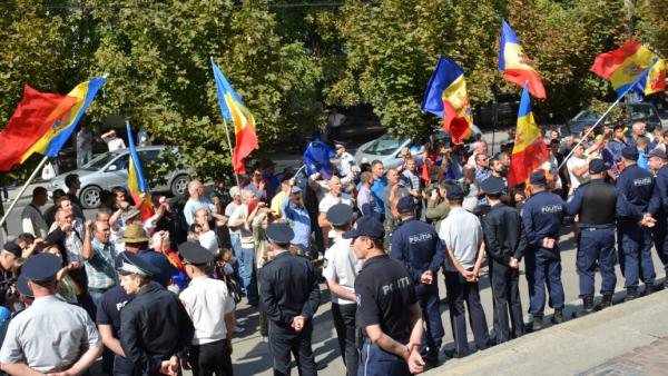 (foto, video) Platforma DA a protestat astăzi în fața Procuraturii Generale