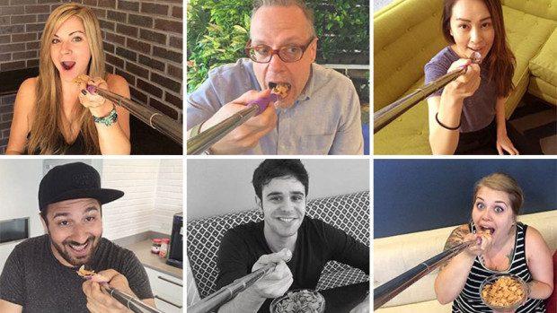 (foto) Noul trend în materie de fotografii – lingura selfie