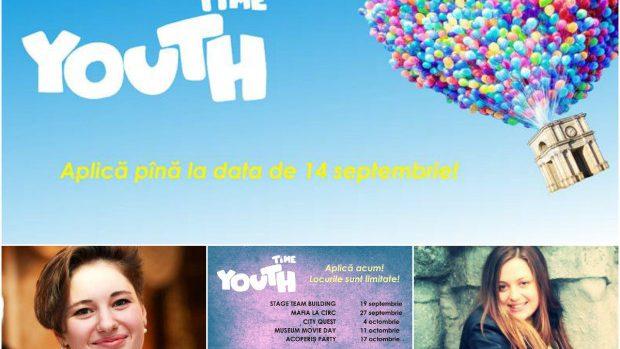 Youth Time – un proiect pentru tinerii de 15-18 ani care-și doresc noi aventuri și provocări