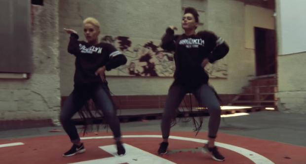 (video) Dansatoarele Vita Mîrzac și Olesea Nespeac sunt gata de Campionatul Mondial de Hip-Hop