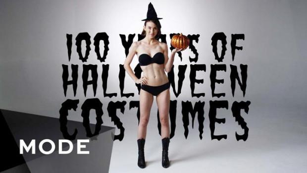 (video) Evoluția costumelor pentru Halloween timp de 100 de ani