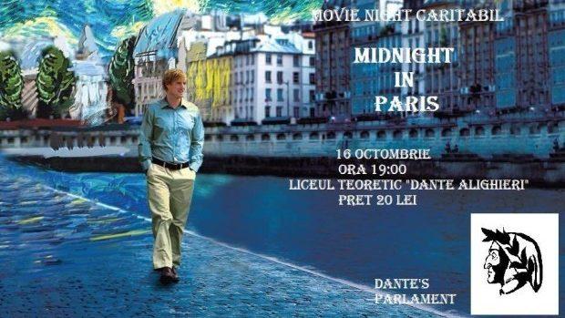 "(video) Vino la un Movie Night caritabil la Liceul Teoretic ""Dante Alighieri"""