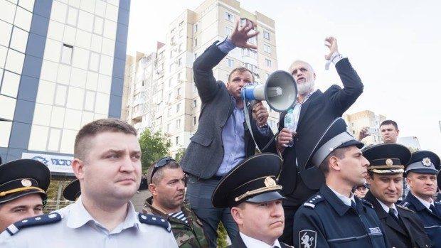 """Andrei Năstase despre incidentul de la GBC: """"În rândurile protestatarilor au fost infiltrați provocatori"""""""