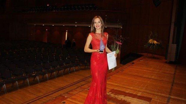 Tânăra Carolina Gorun a fost premiată la un concurs muzical din Germania