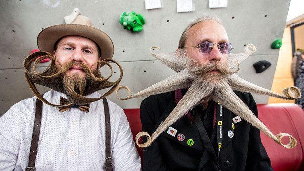 (foto) Cele mai originale și neobișnuite bărbi și mustăți au fost văzute la un concurs din Austria