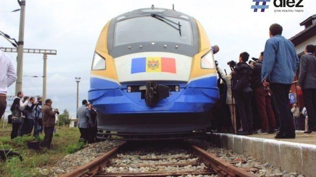 Trenul Chișinău-Iași va circula conform unui nou grafic