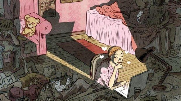 (foto) Ilustrații despre crunta realitate, mascată de aparențe