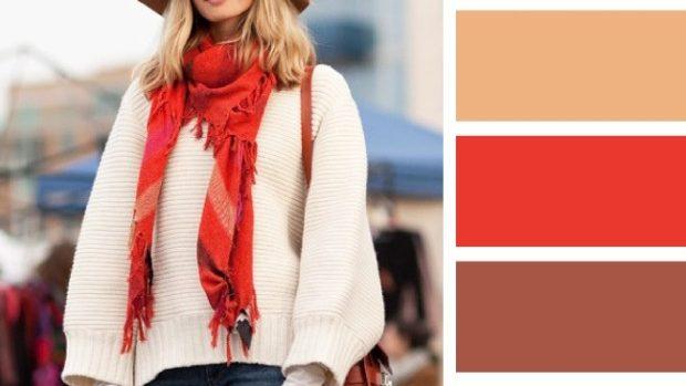 (foto) 15 combinații de culori pentru a asorta corect căciula cu fularul