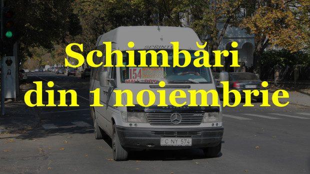 Noi modificări din 1 noiembrie în transportul public de călători. Iată care sunt itinerarele