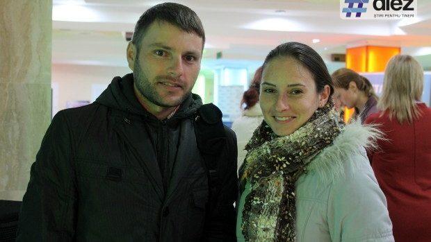 (foto) Tinerii au pescuit oferte de lucru la primul forum al angajatorilor europeni în Moldova