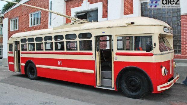 (foto) De la tramvaie la șapte generații de troleibuze. Cum a evoluat transportul electric în Chișinău
