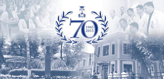 """USMF """"Nicolae Testemițanu"""" sărbătorește 70 de ani de la fondare cu o serie de evenimente"""