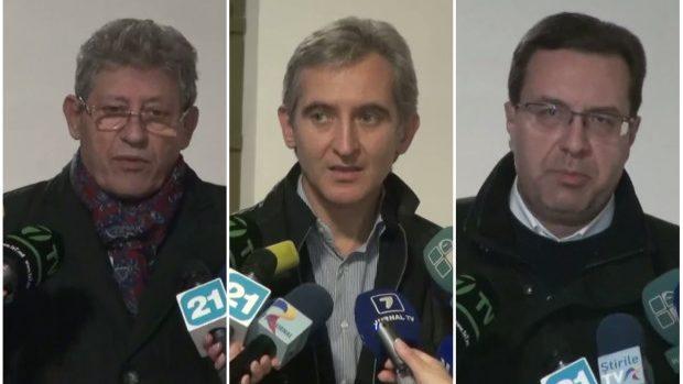 (video) Ce au declarat Leancă, Ghimpu și Lupu după prima ședință pentru formarea alianței