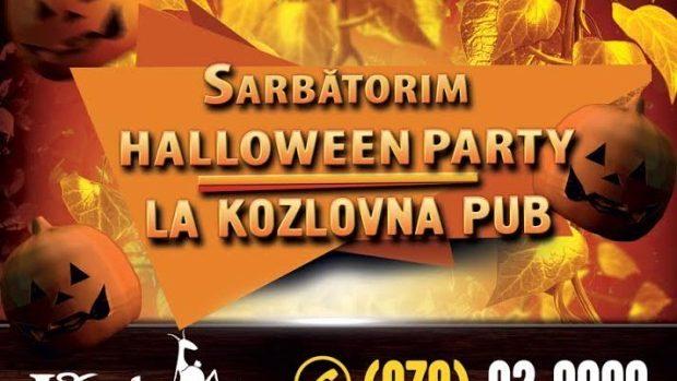 Sărbătorește Halloween 2015 în stilul Cehiei la Kozlovna