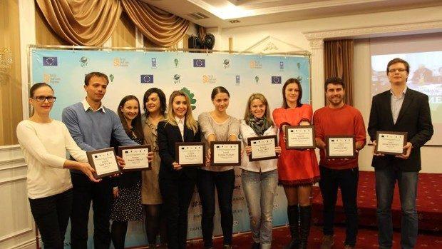(foto) Au fost premiați cei mai buni jurnaliști de mediu