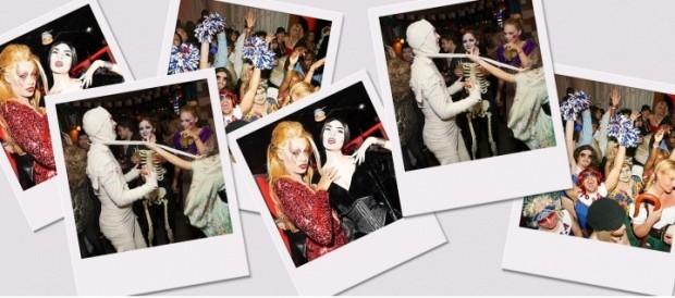 Te-ai gândit vreodată să faci fotografii polaroid la o petrecere de Halloween?