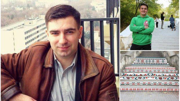 Opinie avocat: Ce riscă tânărul Adrian Pleșca pentru vopsirea scărilor de la Valea Trandafirilor