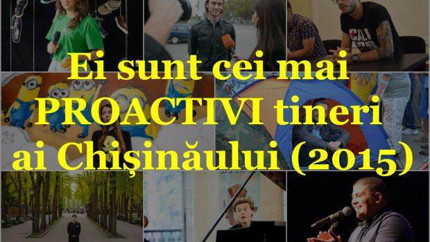 (foto) 16 cei mai proactivi tineri din Chișinău în anul 2015