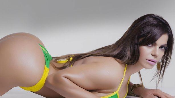 (foto) A fost desemnată Miss Bumbum 2015 – femeia cu cel mai frumos posterior din Brazilia