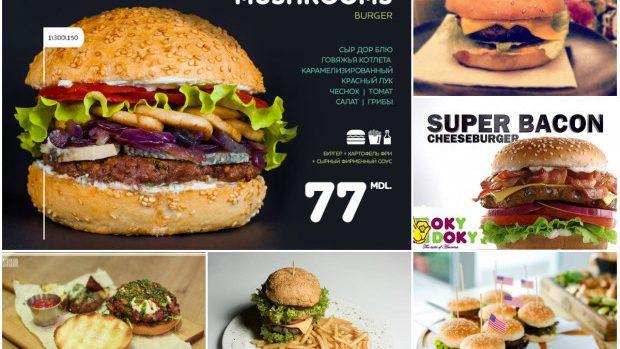 Best of: Locurile în Chișinău unde poți găsi cele mai gustoși burgeri