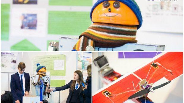 (foto) Cum arată viitorul prin prisma invențiilor expuse la InfoInvent