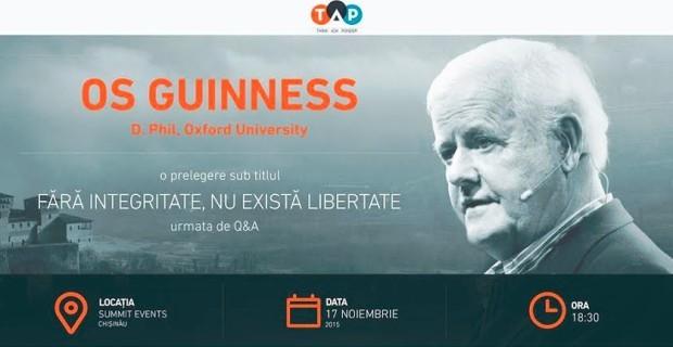 Un urmaș al familiei Guinness vine la Chișinău pentru o prelegere despre integritate și libertate