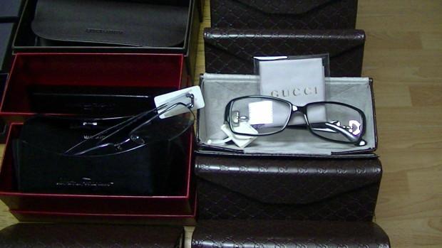 Tentativă de contrabandă de lux cu ochelari Valentino, Prada, Gucci, împiedicată de vameși