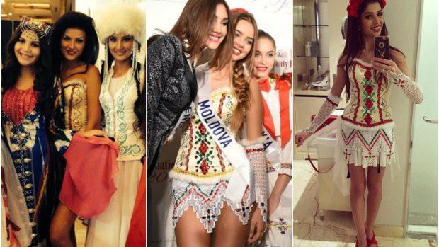 (foto) Rochie de Miss: Ținuta cu care reprezentantele Moldovei participă la concursurile de frumusețe