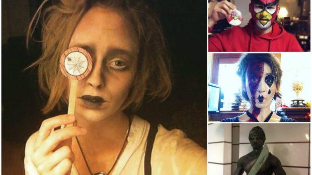 (foto) Cele mai interesante costumații de Halloween 2015 ale tinerilor din Moldova