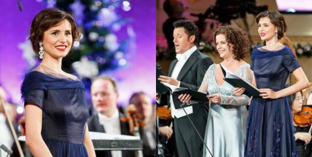 (foto, video) Valentina Naforniță a cântat la cel mai important concert de Crăciun din Viena