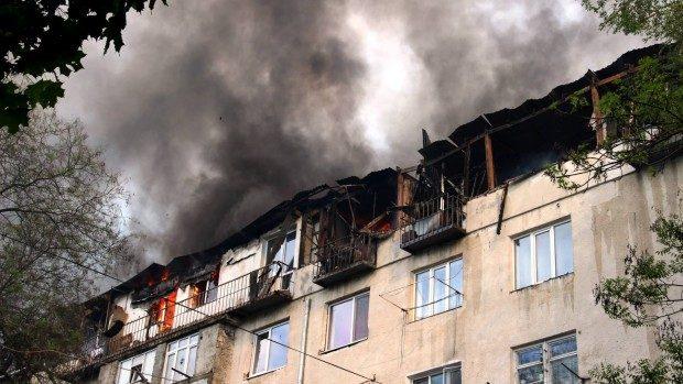 (foto) Botanica: Au fost finisate lucrările de construire a mansardei mistuite de flăcări