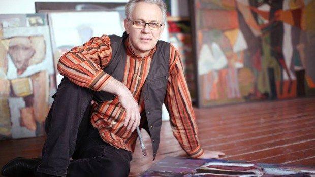 Cadou la cei 60 de ani. Pictorul Tudor Zbârnea își lansează biobibliografia activității