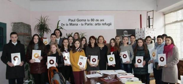 (foto) Un grup de tineri au fost premiați în cadrul unui concurs de creație literară