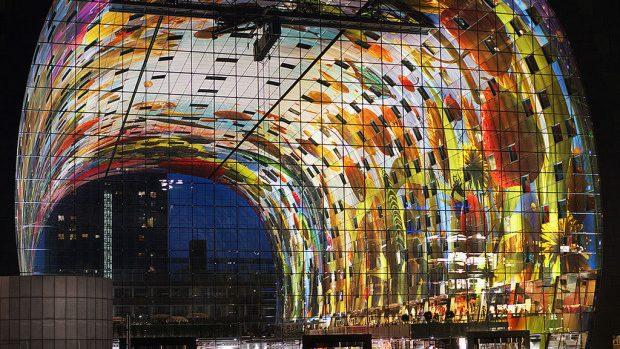 (foto) Cum arată cea mai luxoasă piață din Europa, care se află în Rotterdam