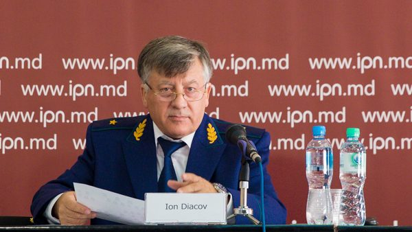 Ion Diacov: Procurorul general este controlat de Vlad Plahotniuc