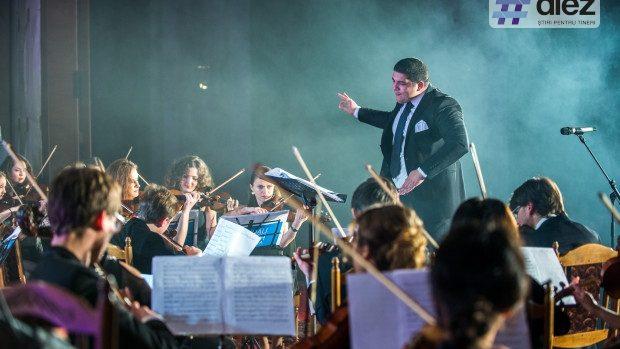 (foto, video) Pentru a doua oară cele mai renumite cântece pop au răsunat în varianta simfonică a Chișinău Youth Orchestra