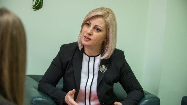 """Iulia Iabanji, director ODIMM: """"În dezvoltarea unei afaceri primordial este să ai cunoștințe, creativitate și apoi mijloacele financiare"""""""