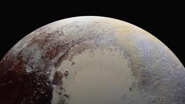 (foto, video) NASA a publicat cele mai clare imagini cu Pluto