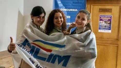 Trei studente din Moldova s-au clasat pe locul II la un concurs internațional de drept
