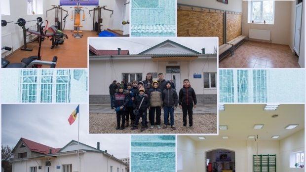 (foto) Europa pentru Moldova: Școala sportivă din Criuleni – prima instituție de profil de pe malul Nistrului reparată pe bani europeni